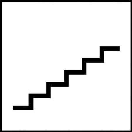 Treppe - 15x15cm DE532