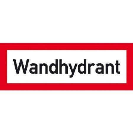 Hinweisschild für den Brandschutz Wandhydrant - 29,70x10,50cm DE739
