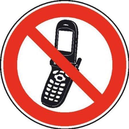 Foto-Handy benutzen verboten Verbotsschild - 20cm DE733