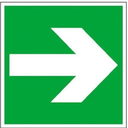 Rettungsschild Richtungspfeil rechts/links Erste Hilfe - 20x20cm DE352