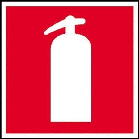 Feuerlöscher Brandschutzschild, Büro Sicherheit - 15x15cm 9