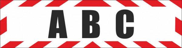 Magnetschild ABC Atomar Biologisch Chemisch Abwehr
