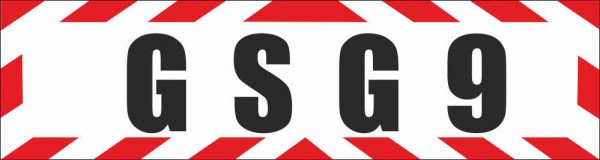 Magnetschild GSG9 Grenzschutzgruppe 9
