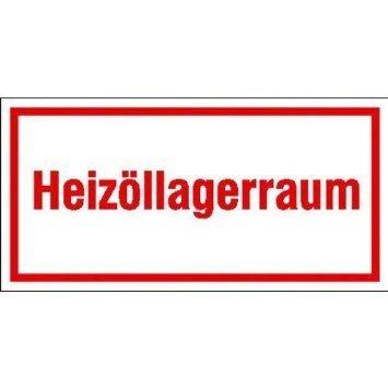 Heizöllagerraum - 20x10cm DE861
