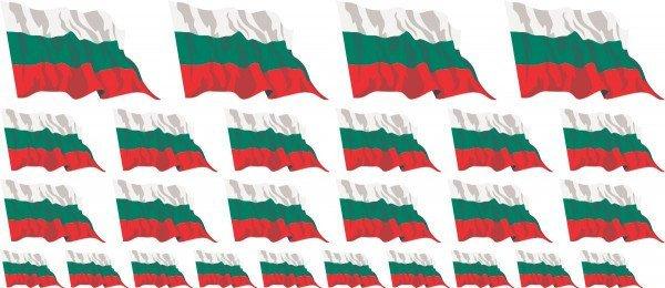 Mini Fahnen / Flaggen Bulgarien