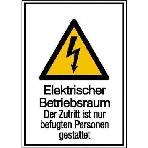Elektrischer Betriebsraum - 13,10x18,50cm DE85