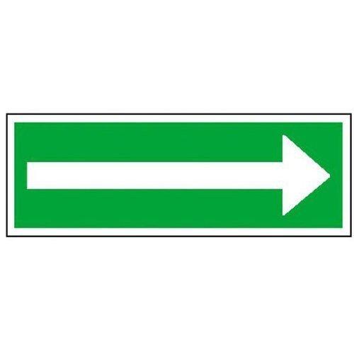 Richtungspfeil (Fluchtrichtung) - 70x10,50cm DE180