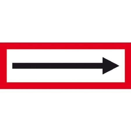 Hinweisschild für den Brandschutz - 29,70x10,50cm DE723