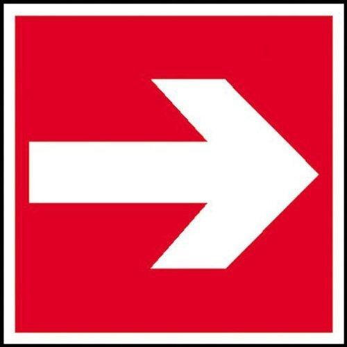 Richtungspfeil rechts/links - 20x20cm DE29