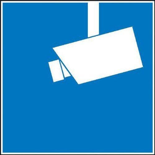 Hinweis Videoüberwachung Video Büro 10x10cm DE76