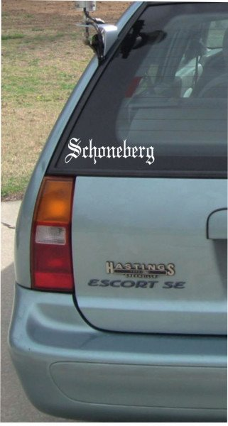 Stadt Rixdorf - 200x60mm - Aufkleber - Autoaufkleber