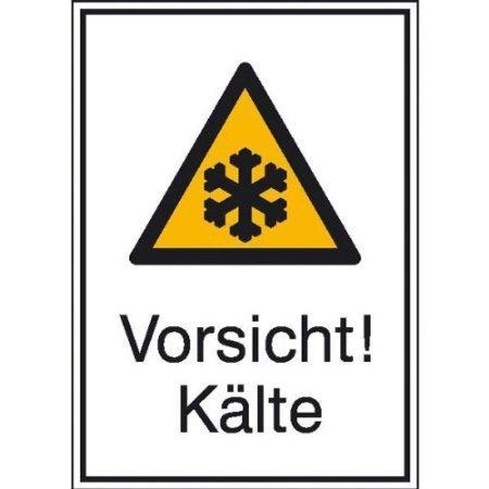 Vorsicht! Kälte - 13,10x18,50cm DE715