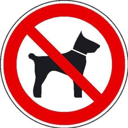 Mitführen von Tieren verboten Verbotsschild - 315cm DE531