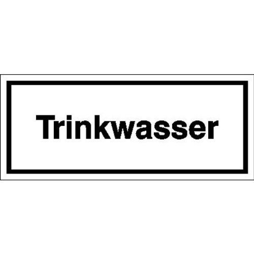 Trinkwasser - 12x5cm DE122