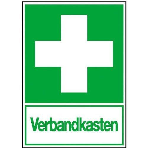 Verbandkasten Rettungs-Kombischild - 20x30cm DE112