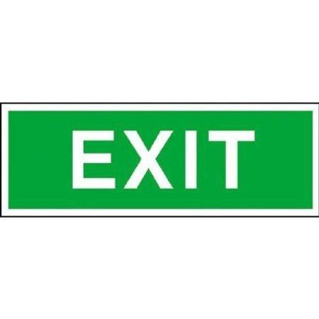 Rettungsschild Exit - 30,0x10,5cm DE441