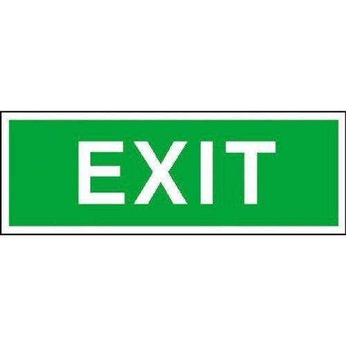 Rettungsschild Exit, Größe - 40x14cm