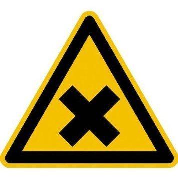 Warnung vor gesundheitsschädlichen Stoffen - 31,5cm DE926