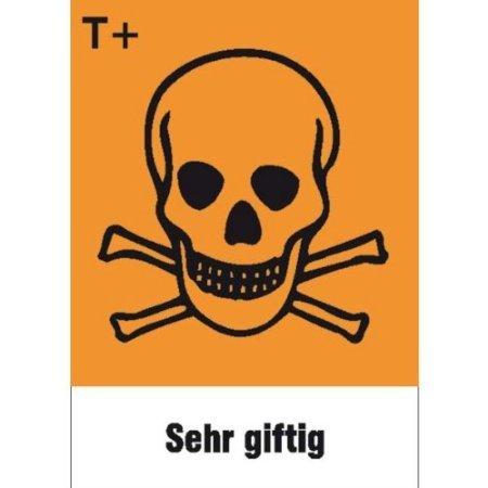 sehr giftig - - 52x74cm DE559