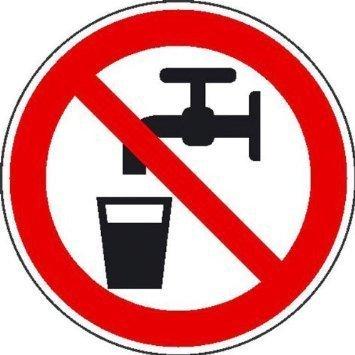 Kein Trinkwasser - 40cm DE1011