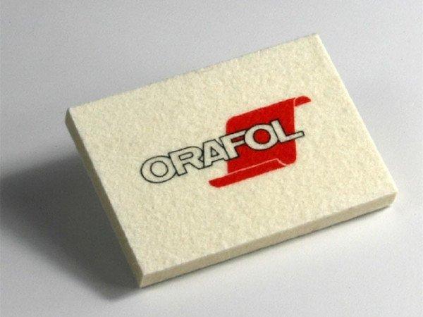 Orafol Filzrakel white - 10cm