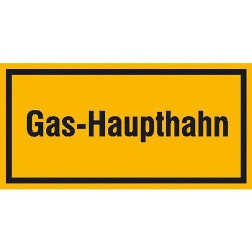 Gas-Haupthahn - 20x10cm DE28
