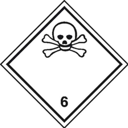 Gefahrzettel - Warnung 30x30 cm