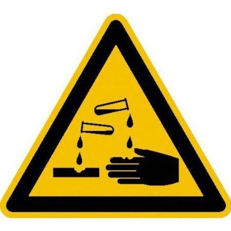 Warnung vor ätzenden Stoffen Warnschild, Büro Sicherheit 20cm DE517