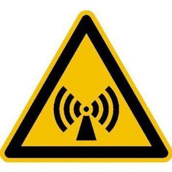 Warnung vor elektromagnetischem Feld - 10cm DE911