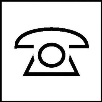 Telefon - Telefonzentrale - 15x15cm DE823