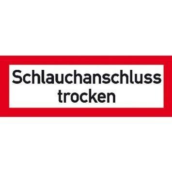 Schlauchanschluss - 29,70x10,50cm DE757