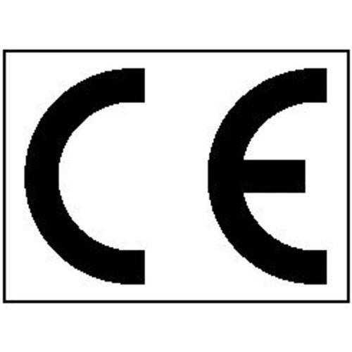 CE-Kennzeichnung, 16 Stück Bogen Text: CE - 3,40x2,50cm DE142