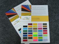 Farbkarten Textilfolien