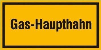 Gas-Haupthahn - 20,00x10,00cm DE1049
