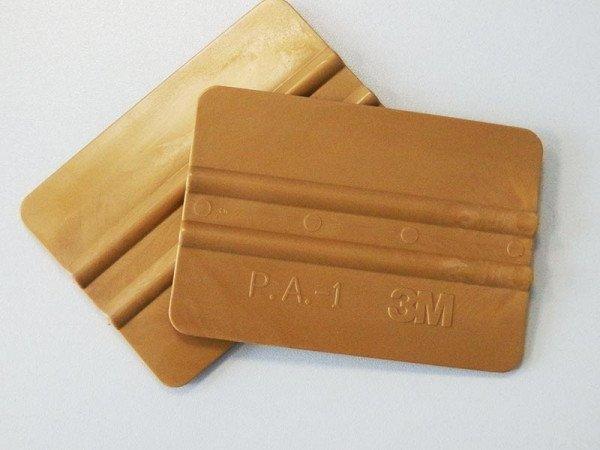 3M Andruckrakel gold aus Plastik 10cm
