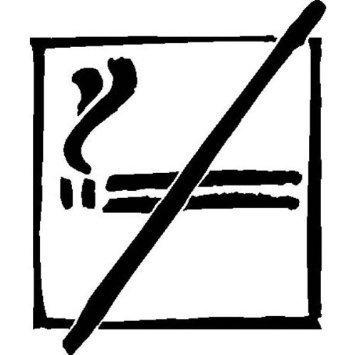 Rauchen verboten - 15x15cm DE844