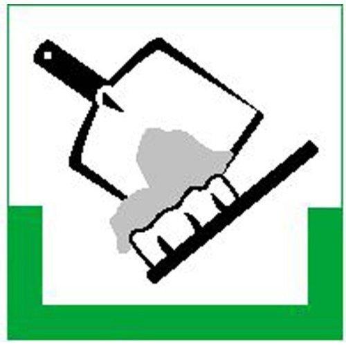 Restmüll RESIGN/Symbolschild - 20x20cm DE202