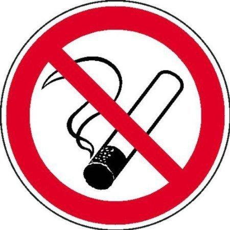 Rauchen verboten Aufkleber Verbotsschild - 20cm DE411